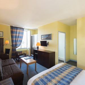 Hotel Bénodet chambre bord de mer