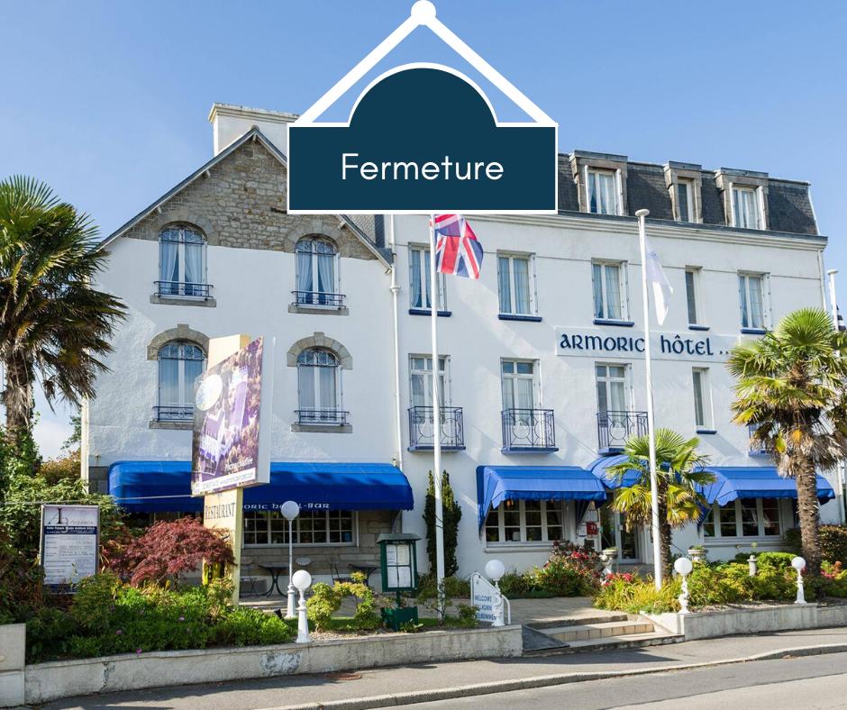 Fermeture congés annuels armoric hotel